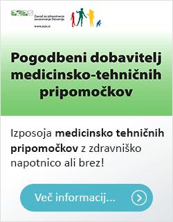 ZZZS, pogodbeni dobavitelj medicinsko-tehničnih pripomočkov