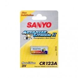 Litijeva baterija CR123A, SANYO