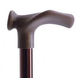 Sprehajalna palica GS-6,7 - anatomsko L+D oblikovano držalo, zložljivo