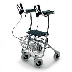 4 kolesni sprehajalnik (rolator) ARTHRITIS z oporo za roke