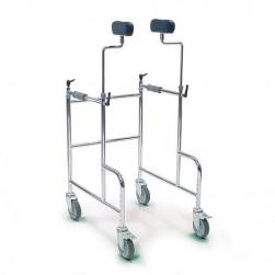 4 kolesni sprehajalnik GMA z oblazinjenima podpornikoma za ramena