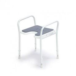 Stol za prhanje z naslonjalom za roke, 9402-A