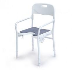 Stol za prhanje z naslonjalom za roke in hrbet, 9400-A