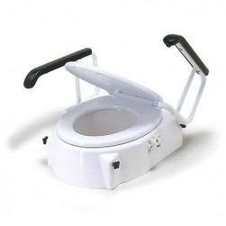 Toaletni sedež, povišek z naslonom za roke, TSE-1