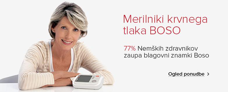 77% zdravnikov zaupa blagovni znamki BOSO