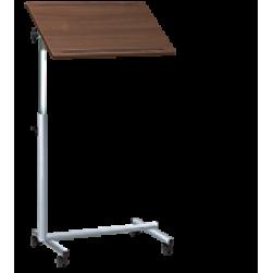 Obposteljna bolniška mizica na kolesih